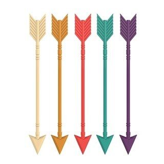 Arrow Stir Sticks (Set of 5) by TrueZoo