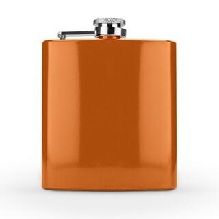 Spectrum Glossy Orange 6 Ounce Flask by True