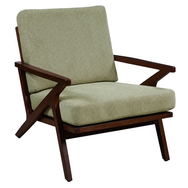 Astonishing Shop Mid Century Sage Green Wood Accent Arm Chair On Sale Gmtry Best Dining Table And Chair Ideas Images Gmtryco