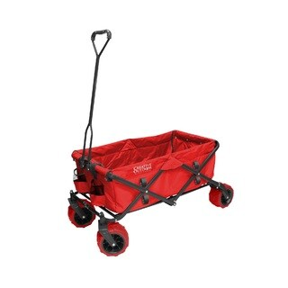 Creative Outdoor Distributor Original Folding Wagon, Red