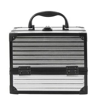 Diophy Portable Makeup Train Case Cosmetic Organizer Box