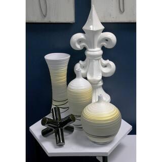 Sagebrook Home-Ceramic Vase Yellow Décor https://ak1.ostkcdn.com/images/products/17927995/P24108687.jpg?impolicy=medium