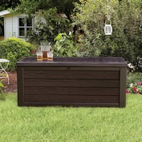 Keter Westwood 150-Gallon Deck Box- Brown