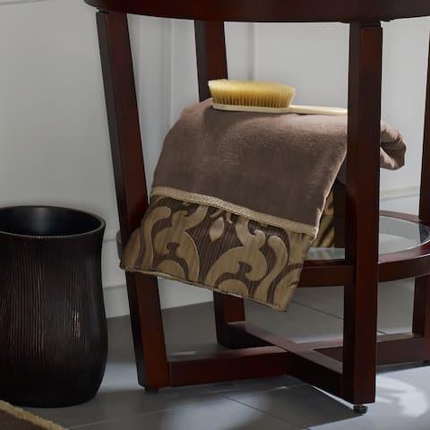 Five Queens Court Lafayette Velour Cotton Jacquard Bath Towel