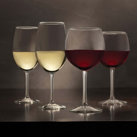 Libbey Vineyard Reserve 12-piece Glass Stemware Set