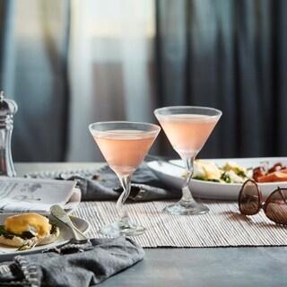 Libbey Z-stem 4-piece Martini Glass Set