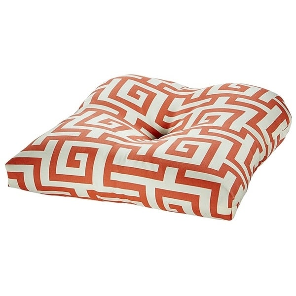 Shop Athens Coral Outdoor Chair Cushion Free Shipping On Orders