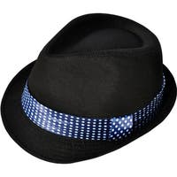 Unisex Structured Gangster Trilby Wool Fedora Hat