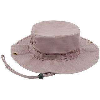 Outdoor Hunting/Camping Safari Bucket Hat with Sun Protection (Option: Khaki)