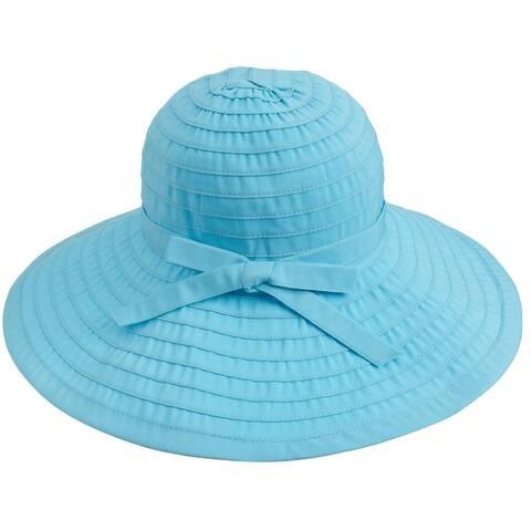 Women's Large Wide Brim Roll-Up Spring/Summer Sun Hat