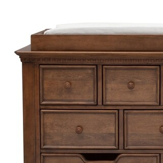 Simmons Kids Tivoli Changing Tray 329710, Antique Chestnut
