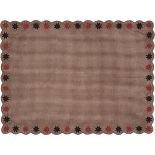 Carson Star Scalloped Table Cloth