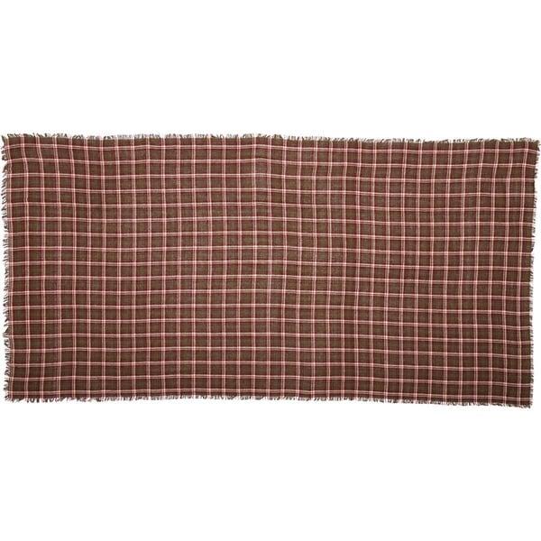 Jackson Plaid Burlap Table Cloth