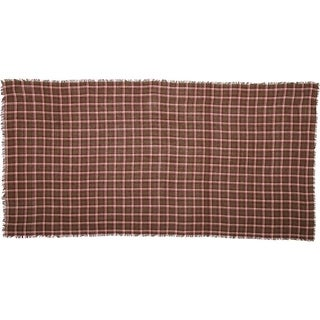 Jackson Plaid Burlap Table Cloth