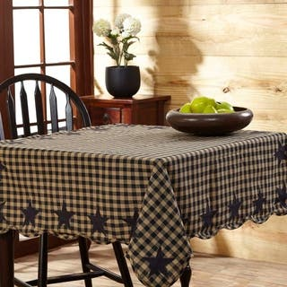 India tablecloths for less overstock star scalloped table topper junglespirit Image collections