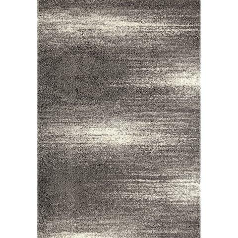 "Contemporary Ombre Shag Area Rug - 7'10"" x 10'"