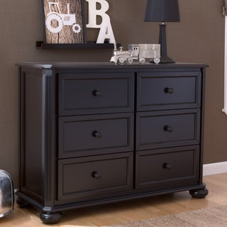 Simmons Kids Peyton 6 Drawer Dresser, Ebony