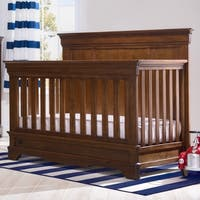 Simmons Kids Tivoli Convertible Crib N More, Antique Chestnut