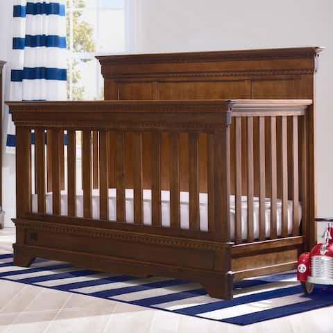 Simmons Kids Tivoli Pine Wood Convertible Crib N More
