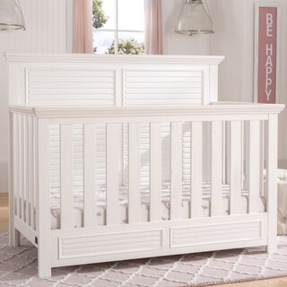 Simmons Kids Oakmont Convertible Crib N More, Rustic Bianca (2 options available)