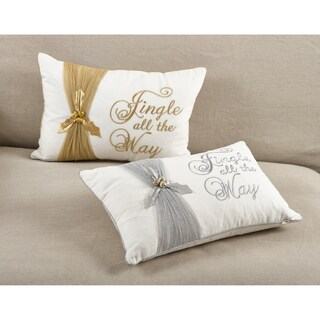 Jingle All The Way Christmas Design Accent Throw Pillow