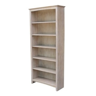 """International Concepts Shaker Bookcase - 72""""H"""
