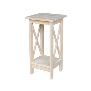 "International Concepts 24"" X-Sided Plant Stand"