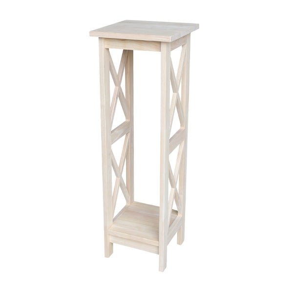 """International Concepts 36"""" X-Sided Plant Stand"""