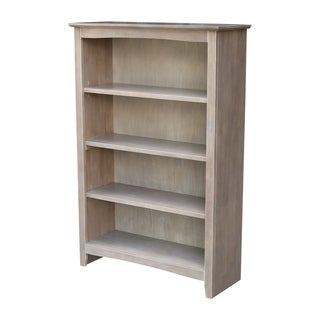 """International Concepts Shaker Bookcase - 48""""H"""