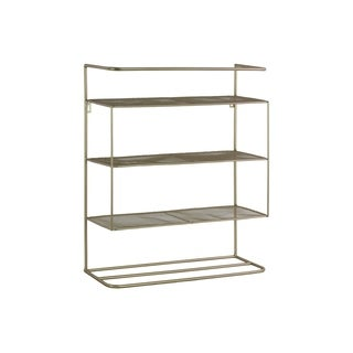 UTC16005 Metal Organizer Metallic Finish Champagne