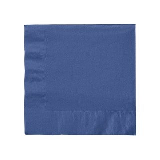 Creative Converting 6691137B 2 Ply Navy Lunch Napkins 50 Count