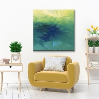 Ready2HangArt 'Blue Waters' Canvas Wall Décor by Max+E
