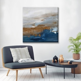 Copperelle' Abstract Canvas Wall Décor by Karen Moehr