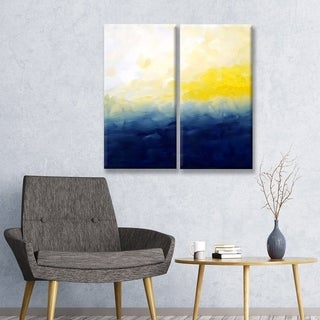 Ready2HangArt 'Good Day for a Sail' Canvas Wall Decor Set by Max+E - Blue