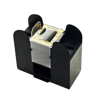 Playing Card Shuffler, Automatic Battery Operated 6 Deck Casino Dealer Travel Machine Dispenser
