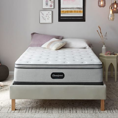 Beautyrest BR800 13-inch Plush Pillow Top Mattress Set