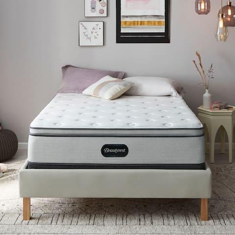 Beautyrest BR800 13-inch Plush Pillow Top Mattress Set