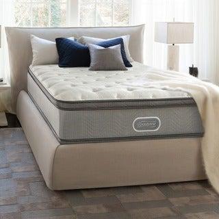 Beautyrest 13-inch Marco Island Plush Pillowtop Split Queen-size Mattress Set