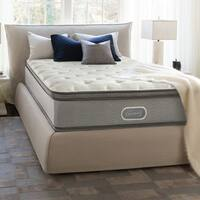 Beautyrest 13-inch Marco Island Plush Pillow Top Split Queen-size Mattress Set
