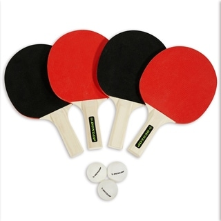 Dunlop 4 Player Table Tennis Accessory Set