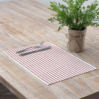 Audrey Ribbed Placemat Set of 6