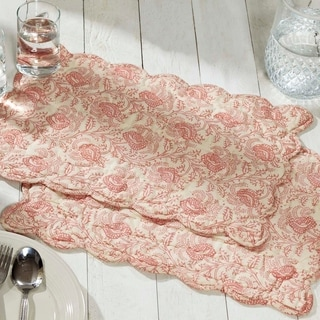 Genevieve Quilted Placemat Set of 6