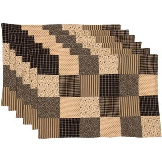 Kettle Grove Patchwork Blocks Placemat Set of 6