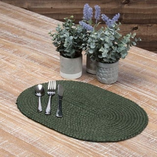 Cypress Jute Oval Placemat Set of 6