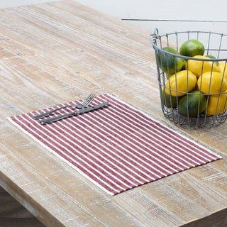 Harmony Ribbed Placemat Set of 6