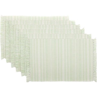 Madeline Ribbed Placemat Set of 6 (Option: Mint)