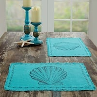 Sandy Burlap Placemat Set of 6