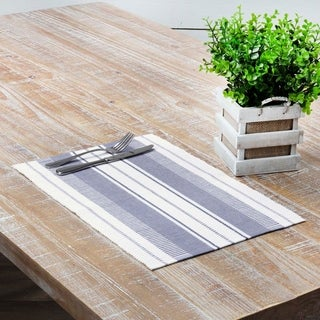 Samantha Ribbed Placemat Set of 6