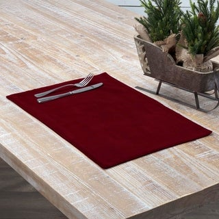 Velvet Holiday Placemat Set of 6