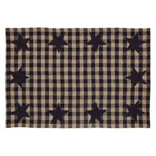 Star Placemat Set of 6 (Option: Black)